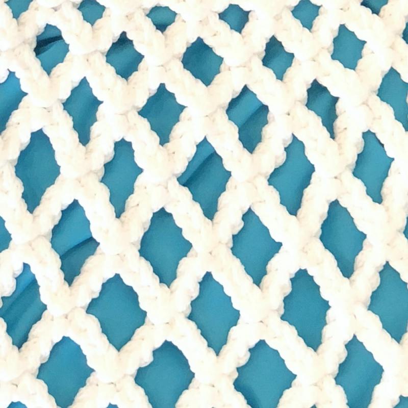 TORBA GAŁGAN PLUS WHITE + turquoise