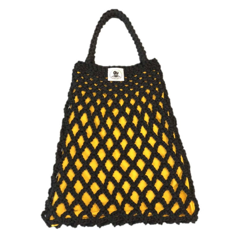 TORBA GAŁGAN PLUS BLACK + YELLOW