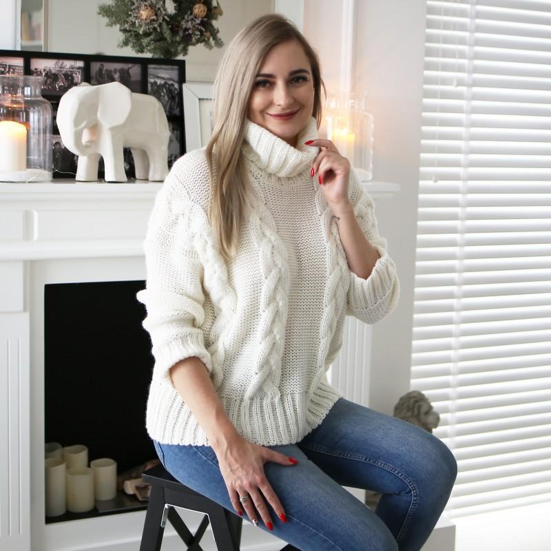 Sweter zimowy wrkocz