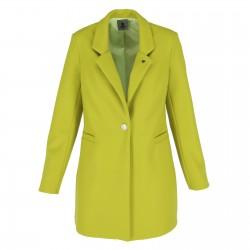 Płaszcz Zielony Neon