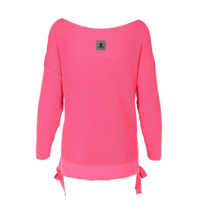 Sweter z kokardką PINK