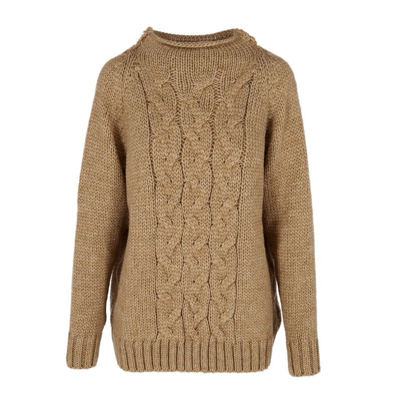 SWETER ZIMOWIEC CAMEL