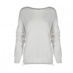 wiosenny sweter biały