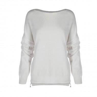 Lekki sweter biały