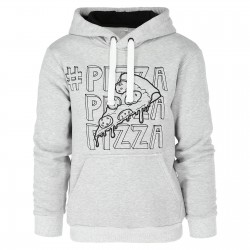 BLUZA PIZZA GRAY